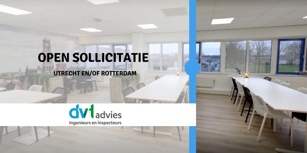 open sollicitatie rotterdam Open sollicitatie DVTadvies   DVTadvies BV open sollicitatie rotterdam